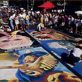italian street painting festival san rafael ca